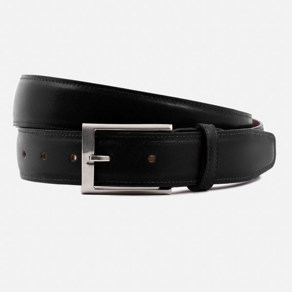 *SECONDS* Nelson Belt - Calfskin Leather - Black