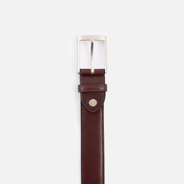 *SECONDS* Nelson Belt - Calfskin Leather - Bordeaux