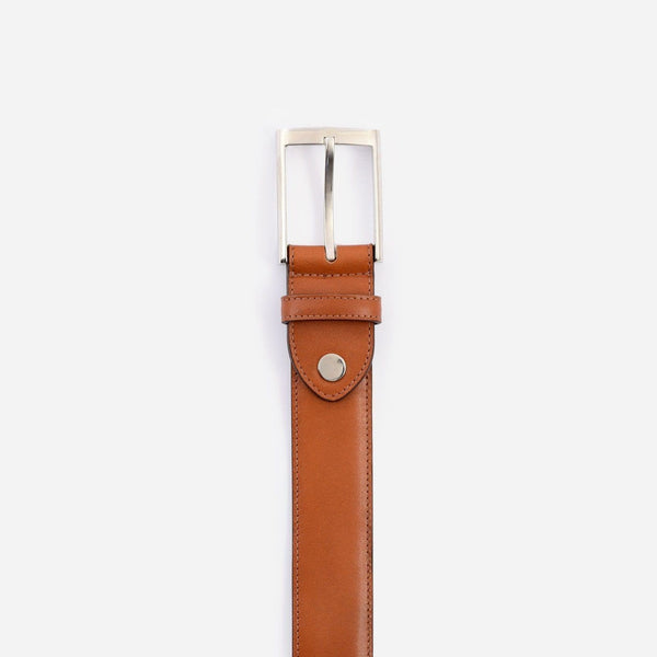 *SECONDS* Nelson Belt - Calfskin Leather - Tan