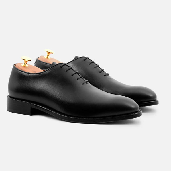 *SECONDS* Valencia wholecuts - Calfskin Leather - Black