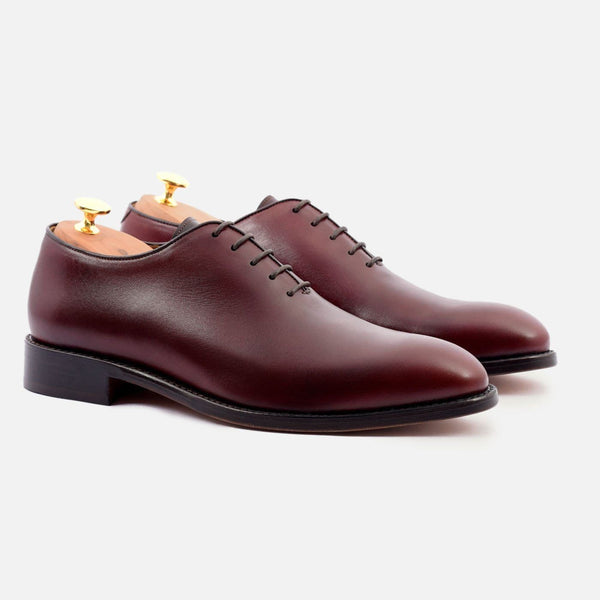 *SECONDS* Valencia wholecuts - Calfskin Leather - Bordeaux