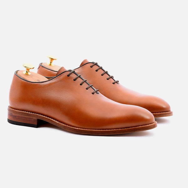 *SECONDS* Valencia wholecuts - Italian Calfskin - Mid Tan