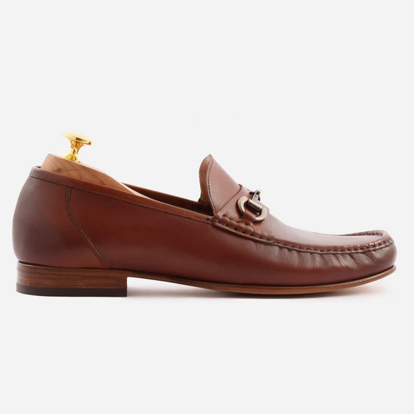 Beaumont Loafer - Calfskin Leather - Oak