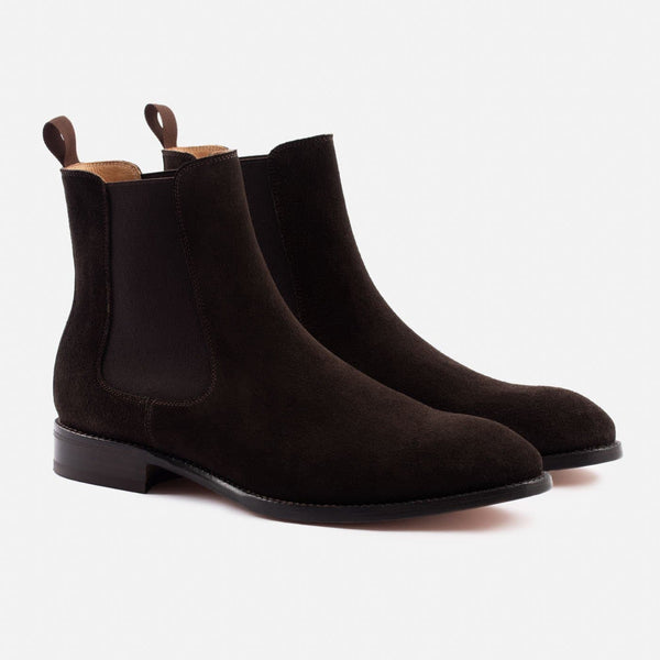 *SECONDS* Bolton Chelsea Boot - Water Repellent Suede - Brown