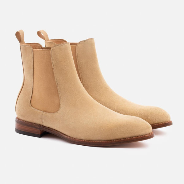 *SECONDS* Bolton Chelsea Boot - Water Repellent Suede - Sand