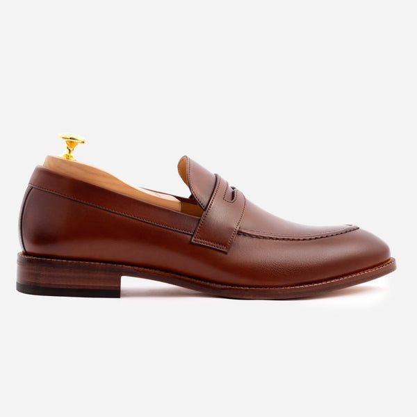 *SECONDS* Cohen Loafer - Calfskin Leather - Oak