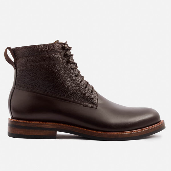 Columbus Boots - Calfskin Leather - Brown
