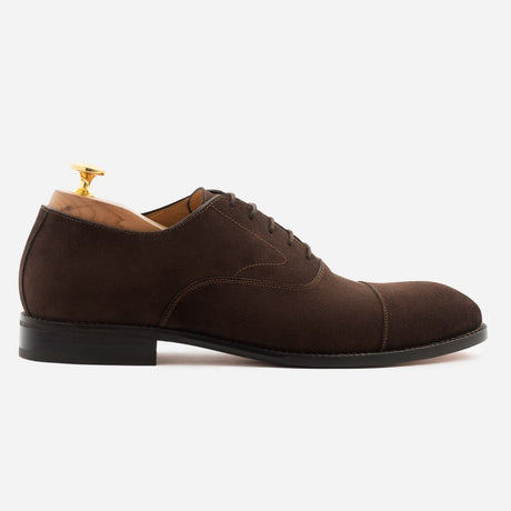 seconds-dean-oxford-suede-brown