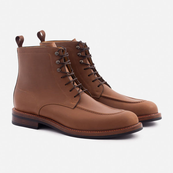 Gallagher Boot - Pull-up Leather - Walnut