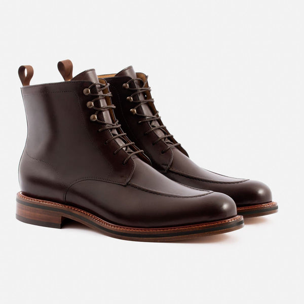 Gallagher Boot - Calfskin Leather - Brown