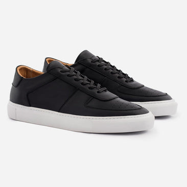 Garcia Sneakers - Full Grain Leather - Black/White