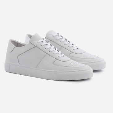 Garcia Sneakers - Full Grain Leather - White/White