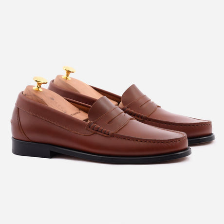 seconds-lambert-loafer-pull-up-leather-tan