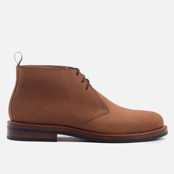 Laval Chukka Boots - Pull-Up Leather - Walnut