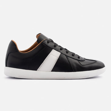 Morgen Classic - Full grain Leather - Black/White/White