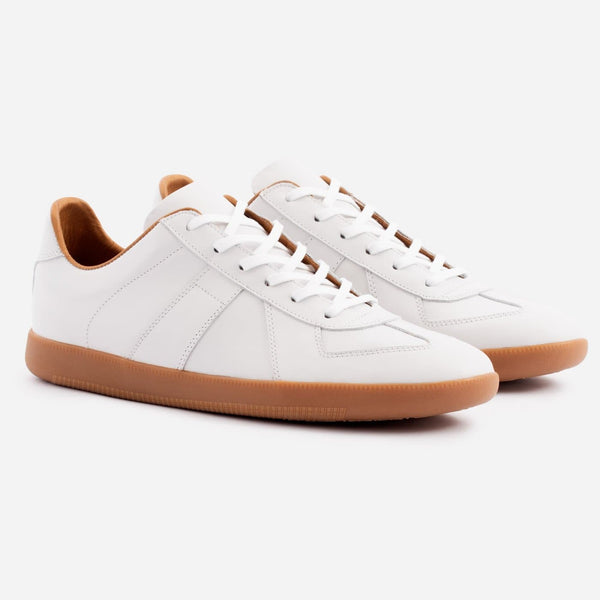 Morgen Classic - Full grain Leather - White