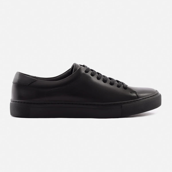 *SECONDS* Reid Low Top Sneakers - All Black