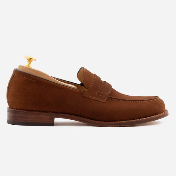 Roy Loafer - Water Repellent Suede - Chestnut