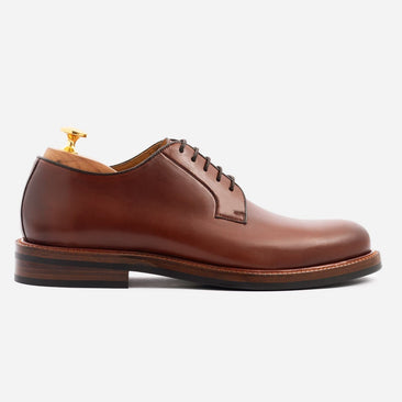 Sutton Derby - Calfskin Leather - Oak