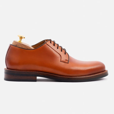 Sutton Derby - Calfskin Leather - Tan