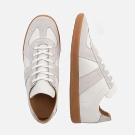 Morgen Trainers - Leather/Suede - Gum Sole