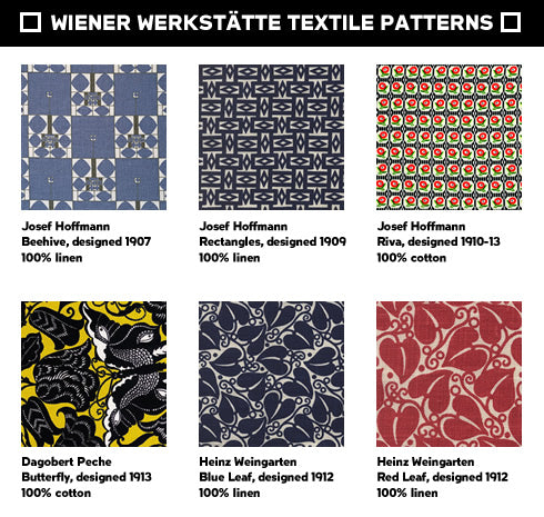 wiener werkst tte fabric bone neue galerie design shop book store. Black Bedroom Furniture Sets. Home Design Ideas