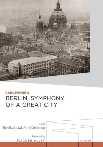 Berlin, Symphony of a Great City [DVD]
