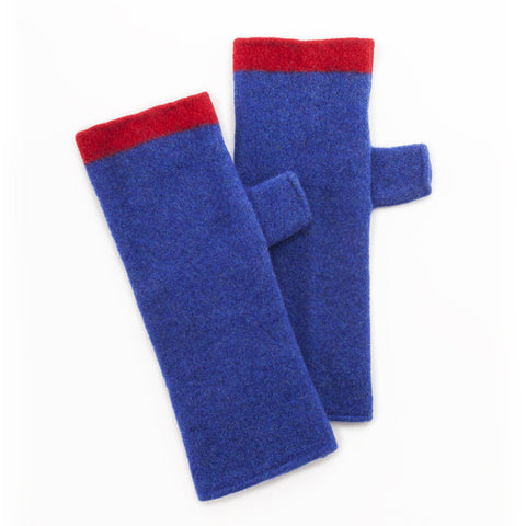 Blue Angel Fingerless Gloves