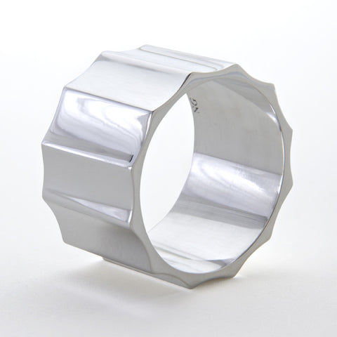 Biscaye Frères Silver Napkin Ring