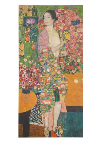 Gustav Klimt: The Dancer [Postcard]