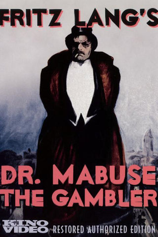 Dr. Mabuse The Gambler [DVD]