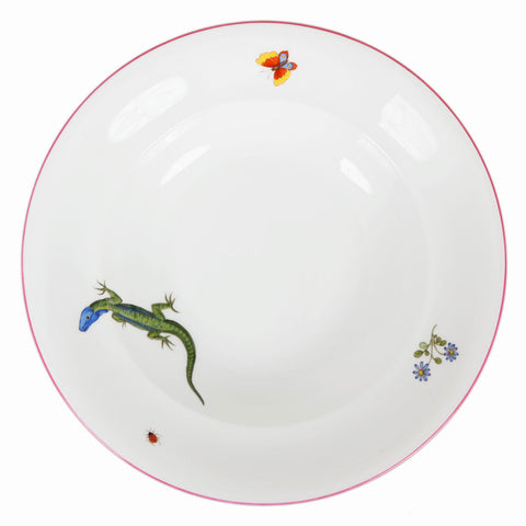 Hand-painted Porcelain Soup Plate