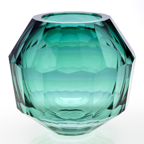 Feleksan Onar Facet-cut Ball Vase