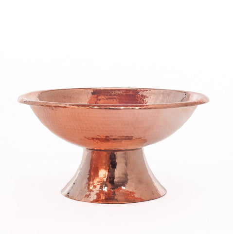 Pure Copper Pedestal Bowl