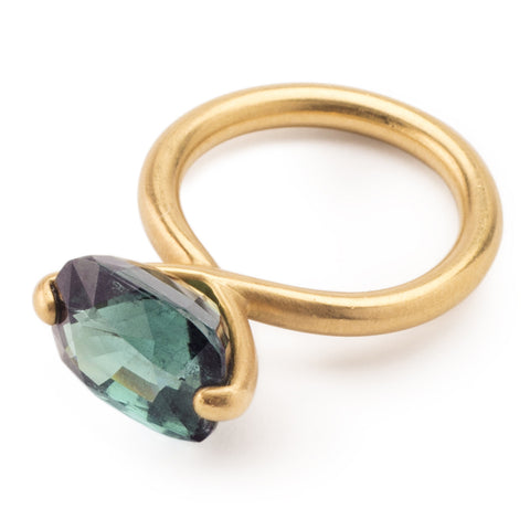 Munnu The Gem Palace Blue Tourmaline Ring
