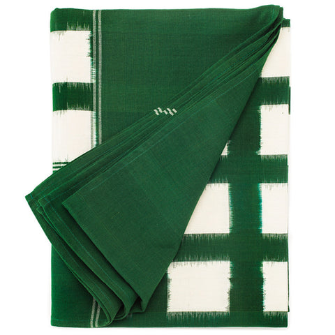 Green Gitterwerk Table Linens