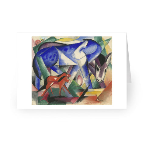 Franz Marc: The First Animals, 1913 [Single Card]