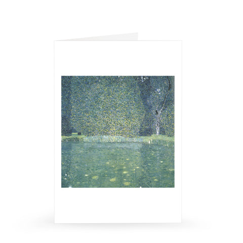 Gustav Klimt: Park at Kammer Castle, 1909 [Single Card]