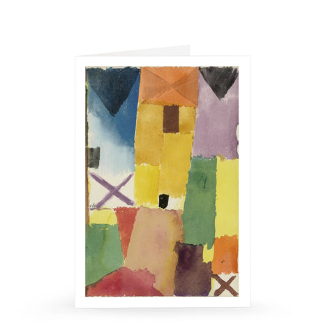 Paul Klee: Yellow House, 1915 [Single Card]