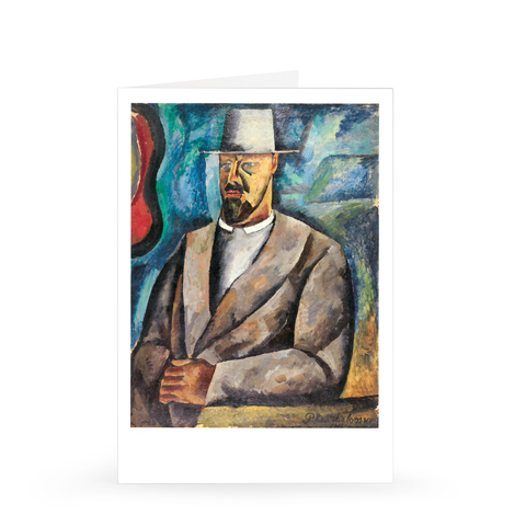 Petr Konchalovsky: Self-Portrait, 1912 [Single Card]
