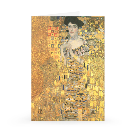 Gustav Klimt, Adele Bloch-Bauer I Notecard, Small [Single Card]