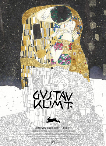 Gustav Klimt: Artists' Coloring Book