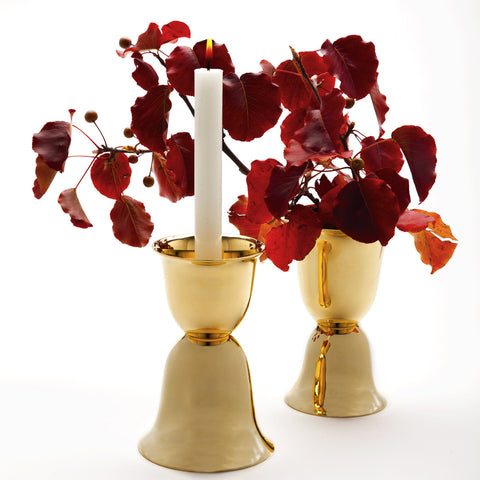 Hoffmann Candle Holder and Vase