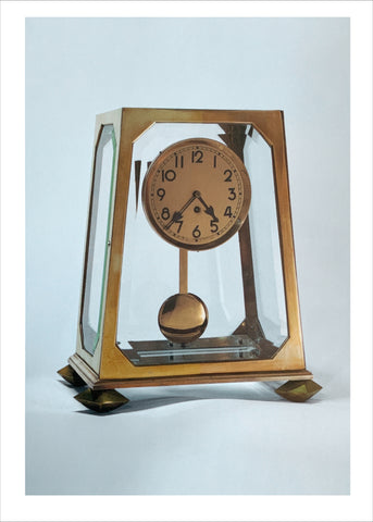 Adolf Loos: Mantelpiece clock [Postcard]