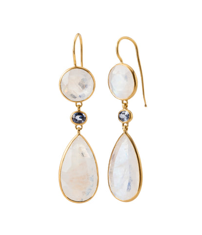 Munnu The Gem Palace Drop Earrings