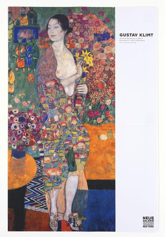 Gustav Klimt: The Dancer Poster