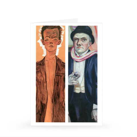 The Self-Portrait, from Schiele to Beckmann Exhibition Notecard [Single Card]