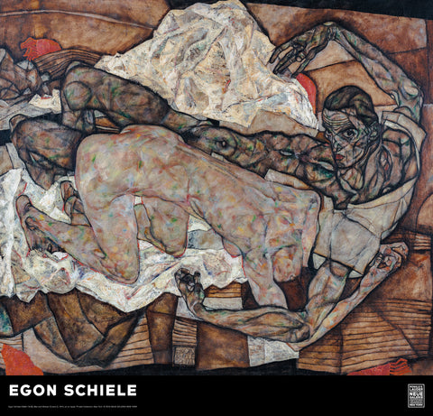 Egon Schiele: The Two Lovers Poster