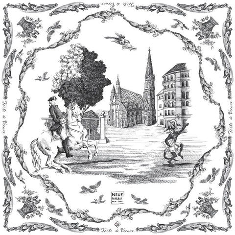 Toile de Vienne Scarf No. 1: Stephansdom