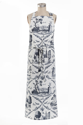 Toile de Vienne Full-length Apron